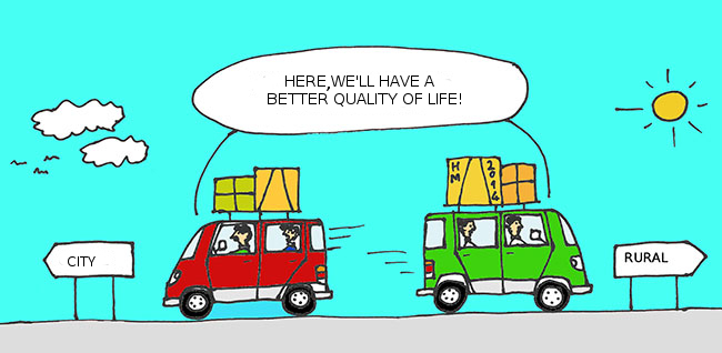 Viñeta - Here we'll have a better quality of life?
