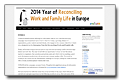 COFACE: 2014 year of reconciling work and family life in Europe